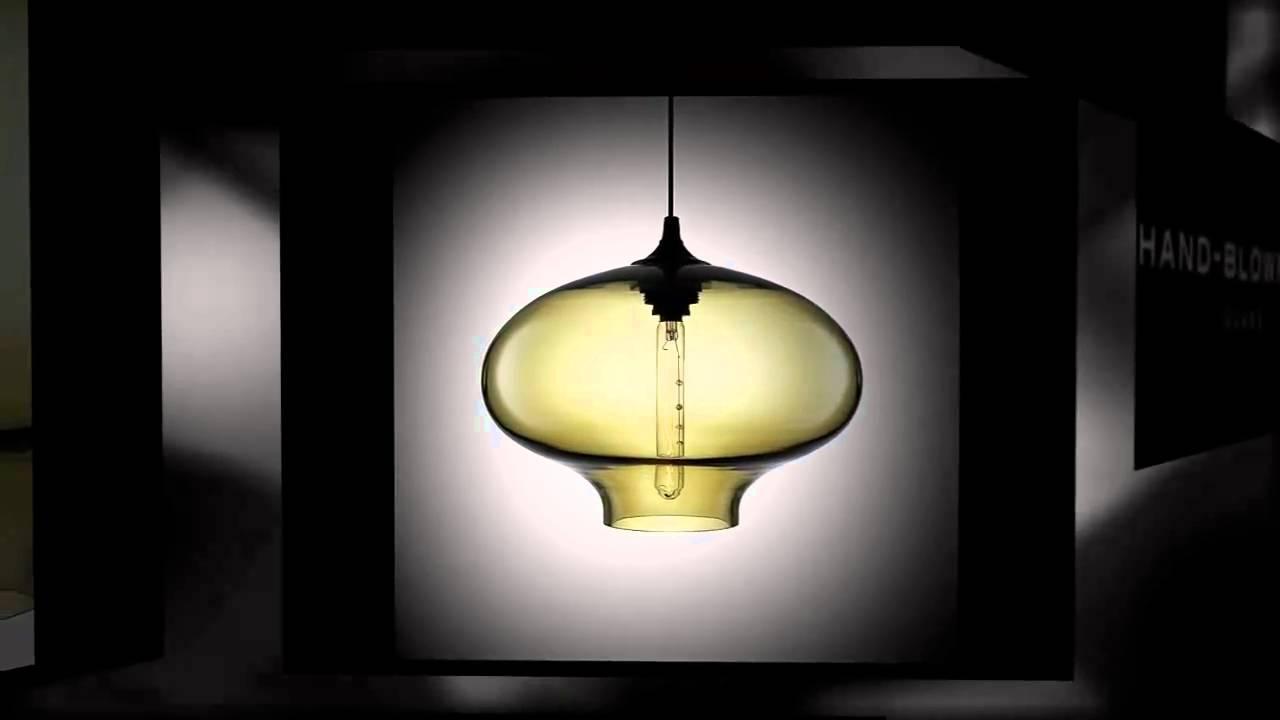 Niche Modern Stargazer Handmade Glass Pendant Lighting ...