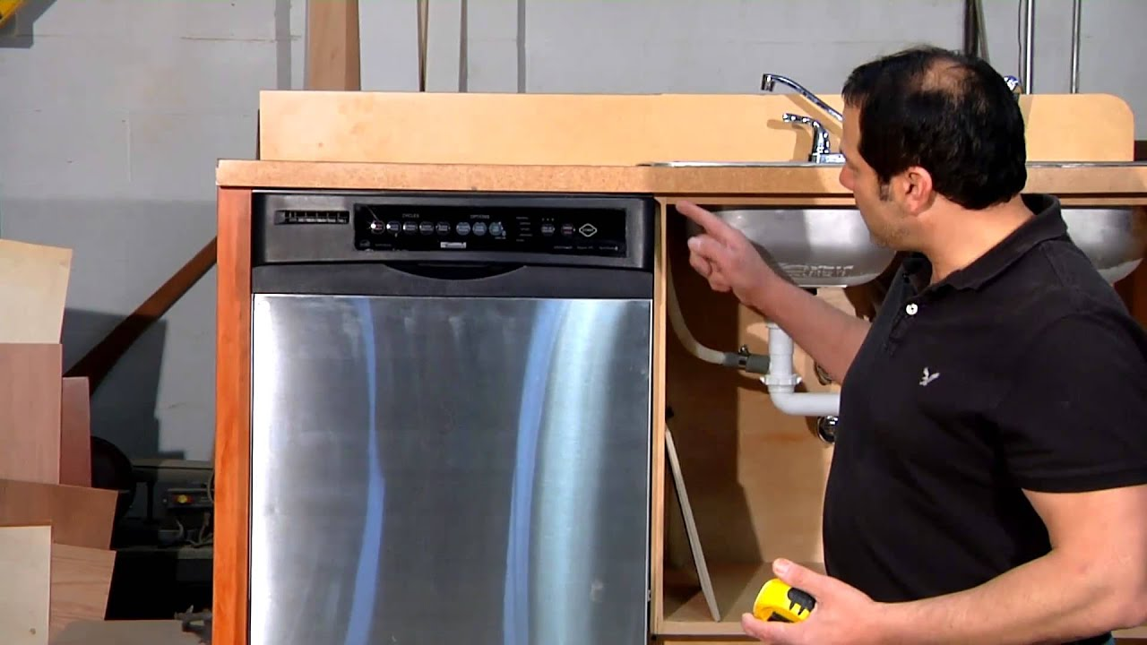 How to Measure for a Dishwasher Installation  Home Sweet