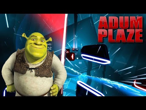 adum-plaze:-the-entire-shrek-movie-in-beat-saber