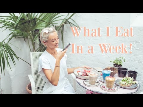 WHAT I EAT IN A WEEK // Work out Routine //  Fashion Mumblr Vlog