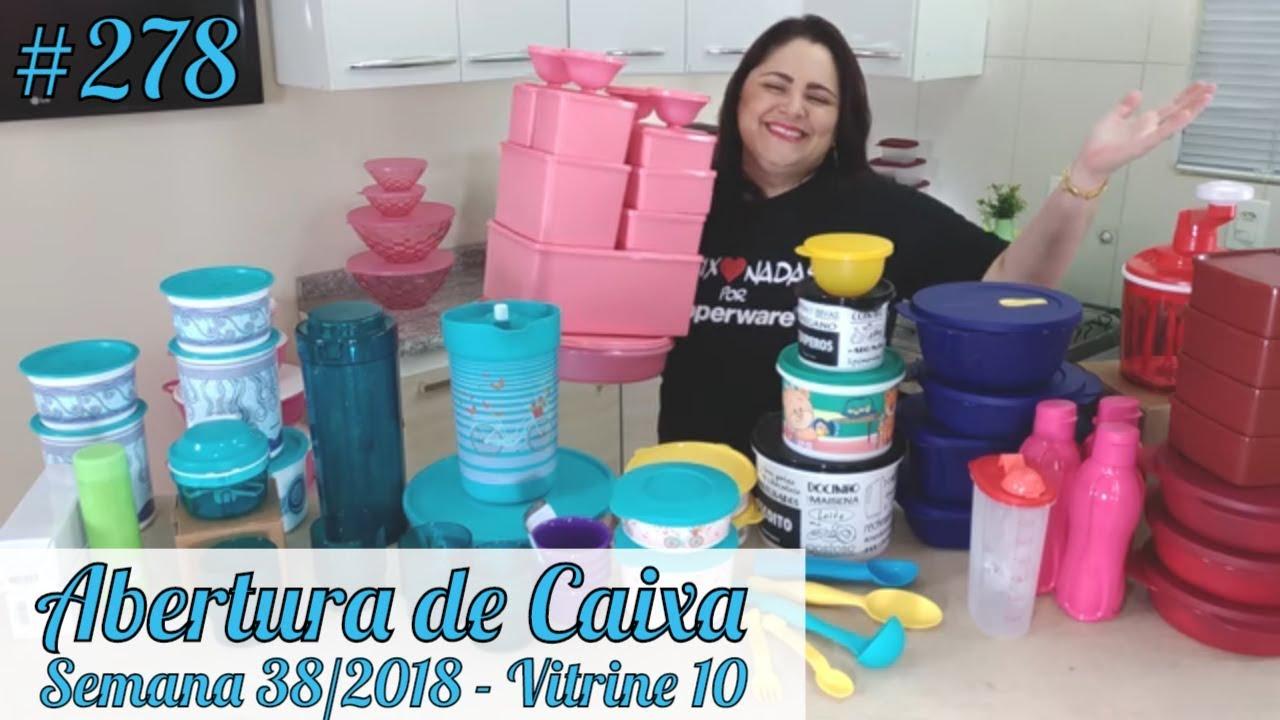 Abertura De Caixa Tupperware Semana 38 2018 Youtube