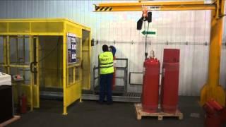 видео Техническое обслуживание систем газового пожаротушения
