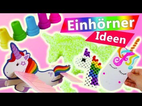 Top 5 Einhorn | Tolle Bastelideen | DIY Kids Ideen