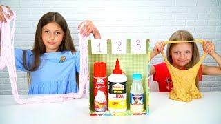 СЛАЙМ челлендж ВЫБЕРИ правильный ИНГРЕДИЕНТ #2 | СЛАЙМЫ из СЛУЧАЙНЫХ ингредиентов