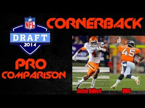 2014 NFL DRAFT | Pro Comparisons | Top 5 Corner Backs | Justin Gilbert