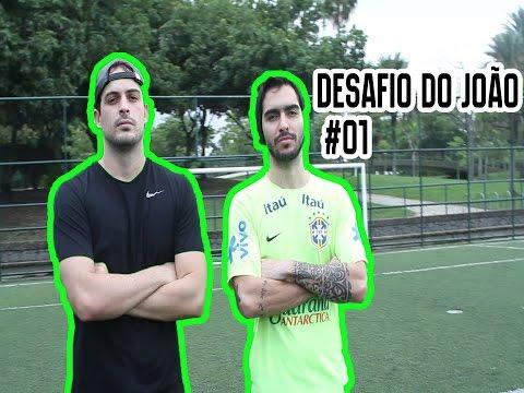 DESAFIO DO JOÃO #01 - O GOL QUE O PELÉ NÃO FEZ - FT. TRACINHA