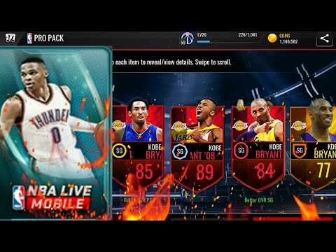 Top 10 Kobe Bryant Pull in NBA LIVE MOBILE!