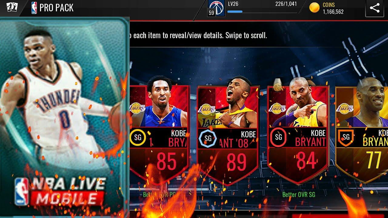 Top 10 Kobe Bryant Pull in NBA LIVE MOBILE! - YouTube