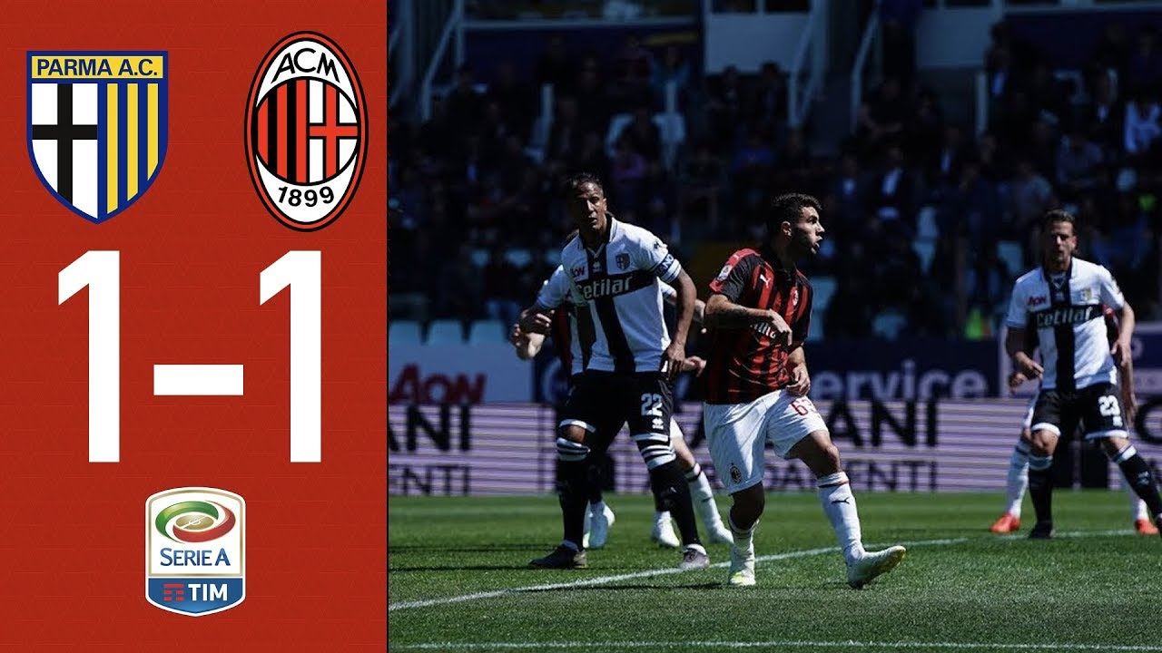 Download Highlights Parma 1-1 AC Milan - Matchday 33 Serie A TIM 2018/19