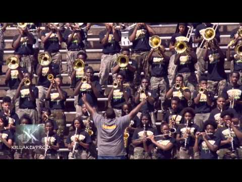 Whitehaven High School Marching Band - Testing My Gangsta - 2015