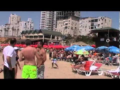 Shabat - holiday in Israel - the Mediterranean Sea