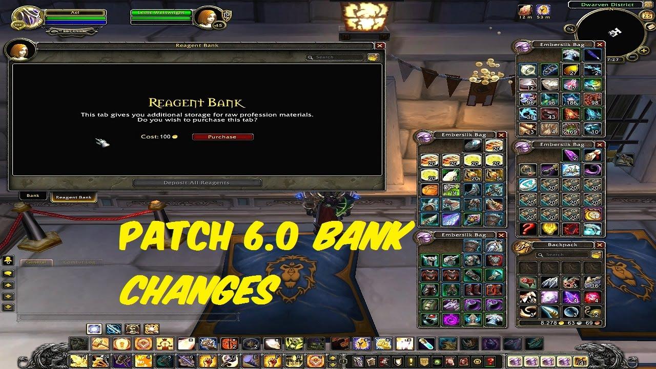 wow bank slots