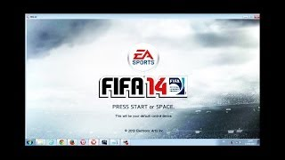 FIFA 14 stopped working problem Fixing method [No downloads needed]
