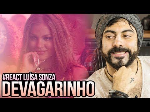 REAGINDO a Luísa Sonza - Devagarinho
