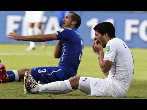 Luis Suárez Banned For Four Months For Biting in World Cup Game