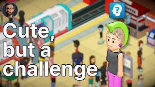 Overcrowd: A Commute 'Em Up  Review   Difficult subway management (Video Game Video Review)