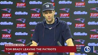 Tom Brady announces he's leaving the New England Patriots