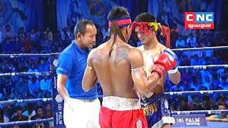 Kun Khmer, មឿន សុខហ៊ុច Vs ក្រៀងក្រៃ | Moeun Sok Huch Vs Kriangkrai (Thai) | 5 Aug 2018 | Fights Zone