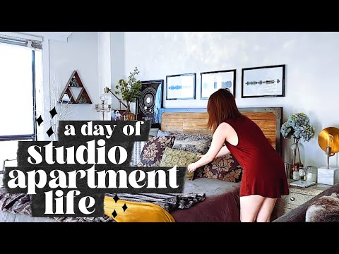 studio-apartment-living:-day-in-the-life-of-an-interior-style-blogger