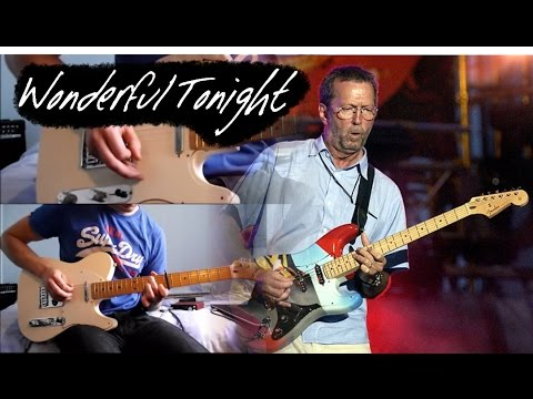Wonderful Tonight - Eric Clapton - Instrumental Guitar Cover