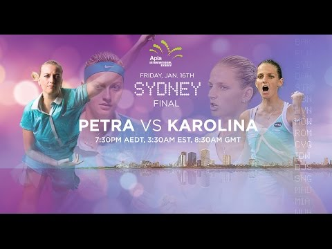 2015 Sydney Final Preview | Petra Kvitova vs Karolina Pliskova