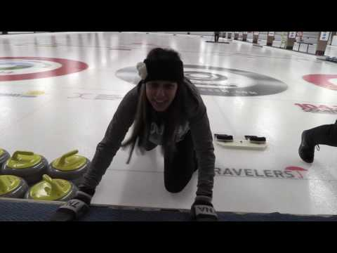 Jasmyn Tries Curling with Brad Jacobs