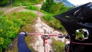 GoPro HD:  Mt Biking Canadian Open Course Preview – Crankworx 2011
