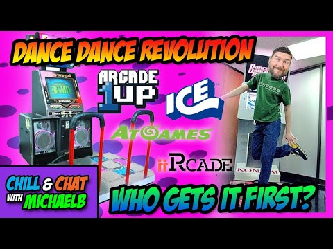 Dance Dance Revolution Home Arcade Arcade1Up, AtGames, iiRcade or Ice? from MichaelBtheGameGenie