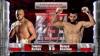 KSW Free Fight: Tomasz Narkun vs. Mamed Khalidov 1