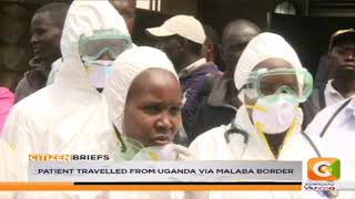 Suspected Ebola case reported in Kericho county