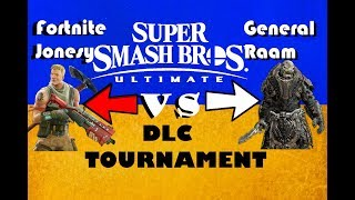 Ultimate Smash Bros DLC tournoi EP 48 Fortnite Default Jonesy vs General Raam