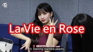 "Twice(트와이스) Momo(모모) dance Iz*one(아이즈원) ""La Vie en Rose""(라비앙로즈) on vlive"