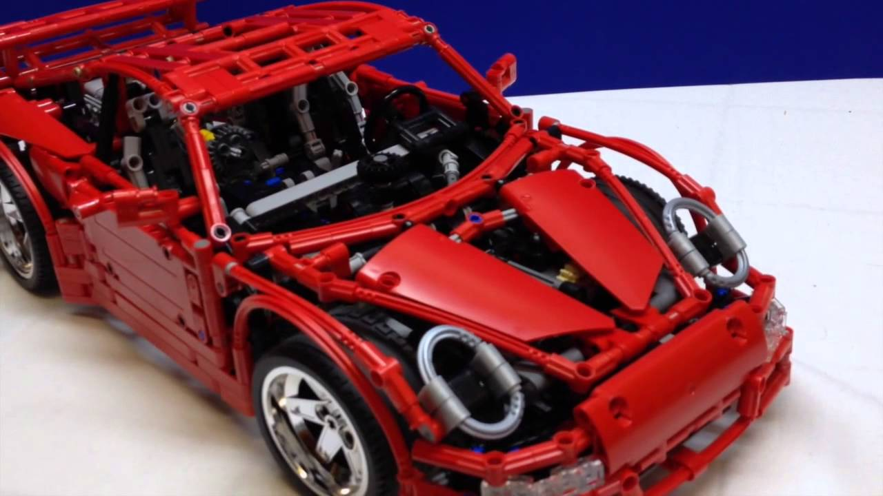 lego technic porsche 997 gt3 review youtube. Black Bedroom Furniture Sets. Home Design Ideas