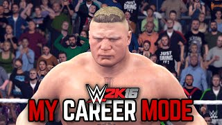 "WWE 2K16 My Career Mode - Ep. 23 - ""THE BEAST RISES!"" [WWE MyCareer PS4/XBOX ONE/NEXT GEN Part 23]"