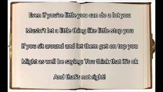 Naughty - Matilda the Musical (with lyrics)
