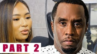"Exclusive | Diddy allegedly ""STOMPED"" on His EXES Stomach! She REVEALS He Dated Lori Harvey & More"