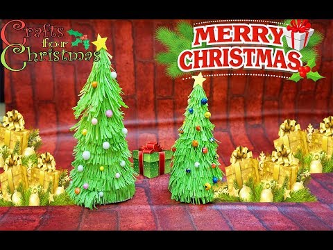 DIY easy  christmas tree for kids| Idea for christmas decoration| MP channel