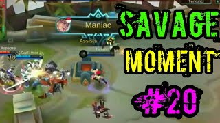 Baixar Savage Moment Terbaik #20 : Mobile Legends