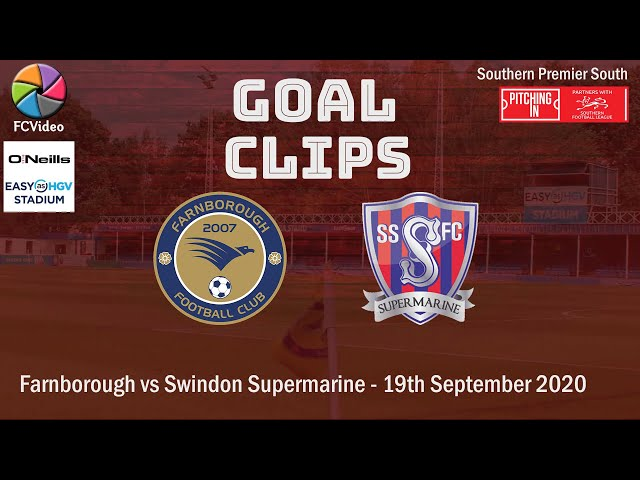 2020-09-19 | Farnborough vs Swindon Supermarine | Goals