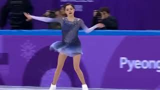Evgenia medvedeva Olympics team short program 😭💪💗😘👏