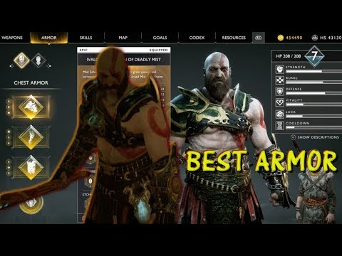 God of War: Best Armor In The Game And How To Get It!