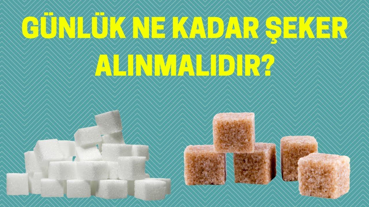 Günlük Ne Kadar Şeker Alınmalı
