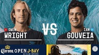 Owen Wright vs. Ian Gouveia - Round Two, Heat 5 - Corona Open J-Bay - Men\'s 2018