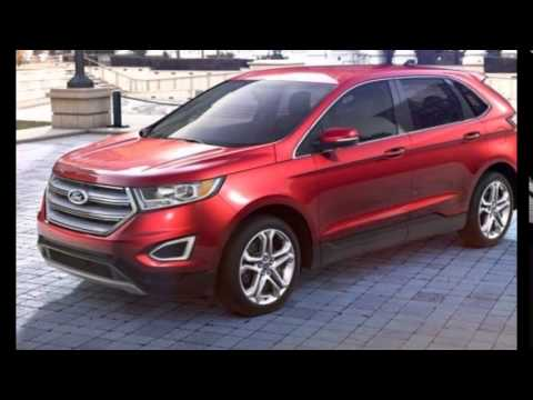 Ford Edge Ruby Red