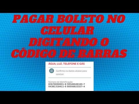 COMO PAGAR BOLETO DIGITANDO O CODIGO DE BARRAS - PAGAR BOLETO com CODIGO de BARRAS no CELULAR