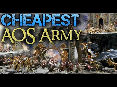 Building the Cheapest AOS Army