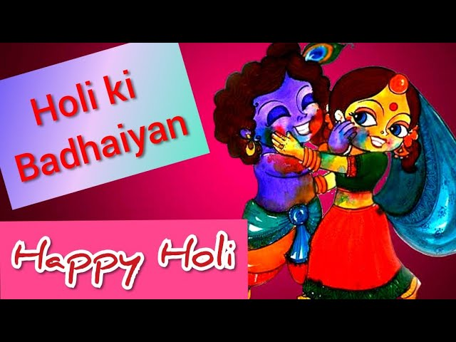 Radha Krishna WhatsApp Holi Status   Best Holi WhatsApp Status   Holi status   Happy Holi 2021
