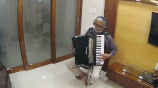 Tujhse Naraz Nahin Instrumental on Roland V Accordion FR-8X