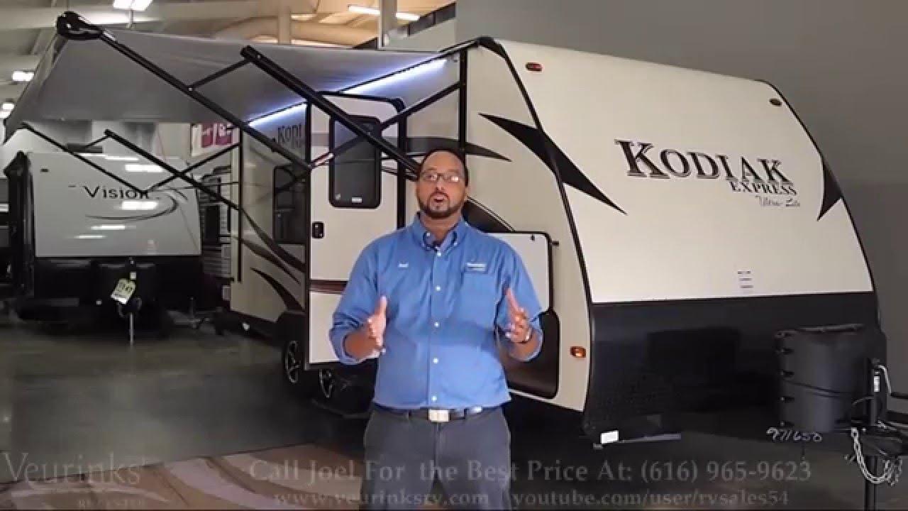 Walk Through Review 2016 Kodiak Express 201QB By Dutchmen RV VeurinksRV