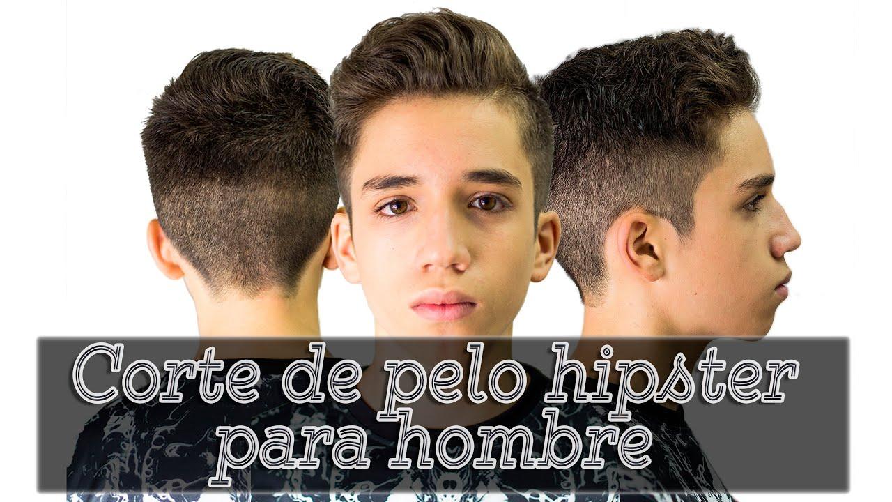 Corte de pelo hipster para hombre youtube - Cortes para chicos ...